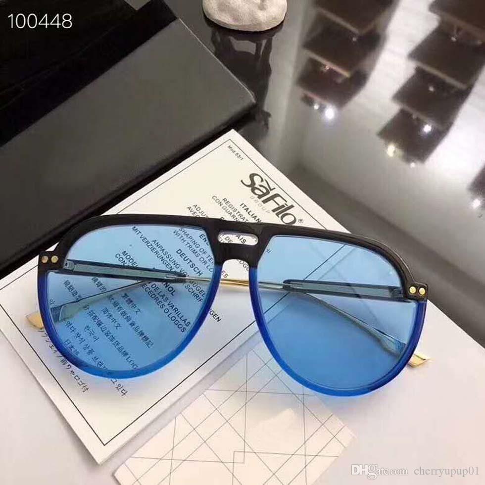 Compre Marca Designer Óculos De Sol De Alta Qualidade Oversiezed Óculos De  Sol D51KU Homens Mulheres Óculos De Sol Óculos De Lente Unisex Com Casos ... 43224a8f7a