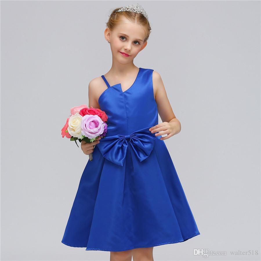 fb433cb7fb9d 2019 Fancy Butterfly Kids Girl Wedding Flower Girls Dress Princess Party  Pageant Formal Dress Prom Little Baby Girl Birthday Dress MQ 007 From  Walter518, ...