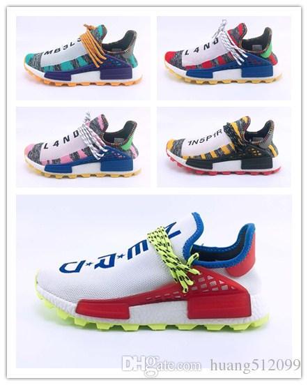 0ba457ca7 Human Race Afro Hu Trial Red Green Pharrell Williams Men Running ...