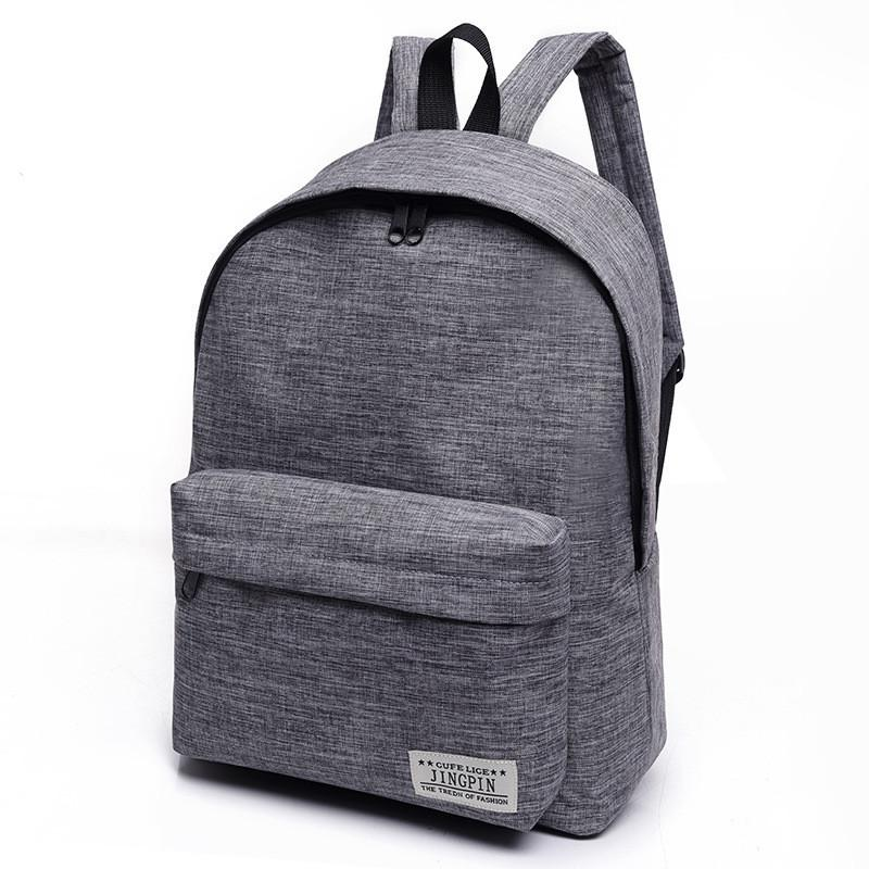 48a8fcff44 2018 Brand Canvas Men Women Backpack College Students High Middle School  Bags For Teenager Boy Girls Laptop Travel Backpacks School Bags For Teens  Backpack ...