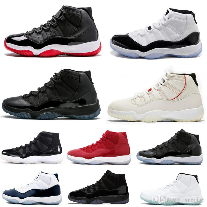 90bc1c1b0 High Quality Mens Basketball Shoes 11 Platinum Tint Concord Blackout ...