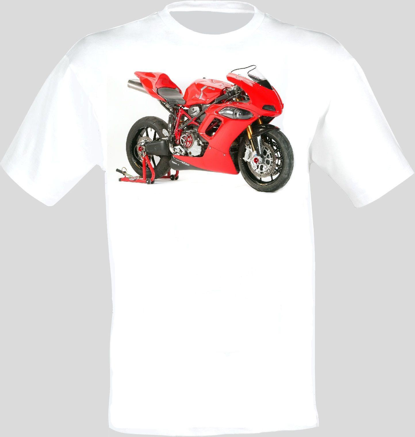 bab77f1aa36f8c Großhandel Ducati Rad 01 Motorrad Bikes Super Sport Fahrrad Männer T Shirt  Von Beidhgate07