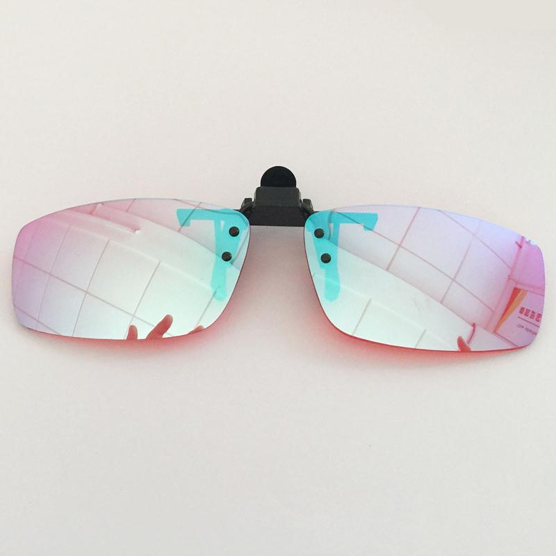Großhandel Männer Farbe Blind Clip Auf Brillen Rot Grün Blindheit