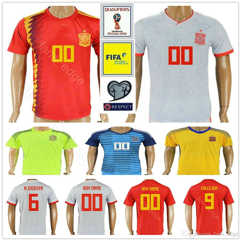 ... coupon code for 2018 2018 world cup spain soccer jerseys 1 de gea 1  casillrs 2 949e8bc3b