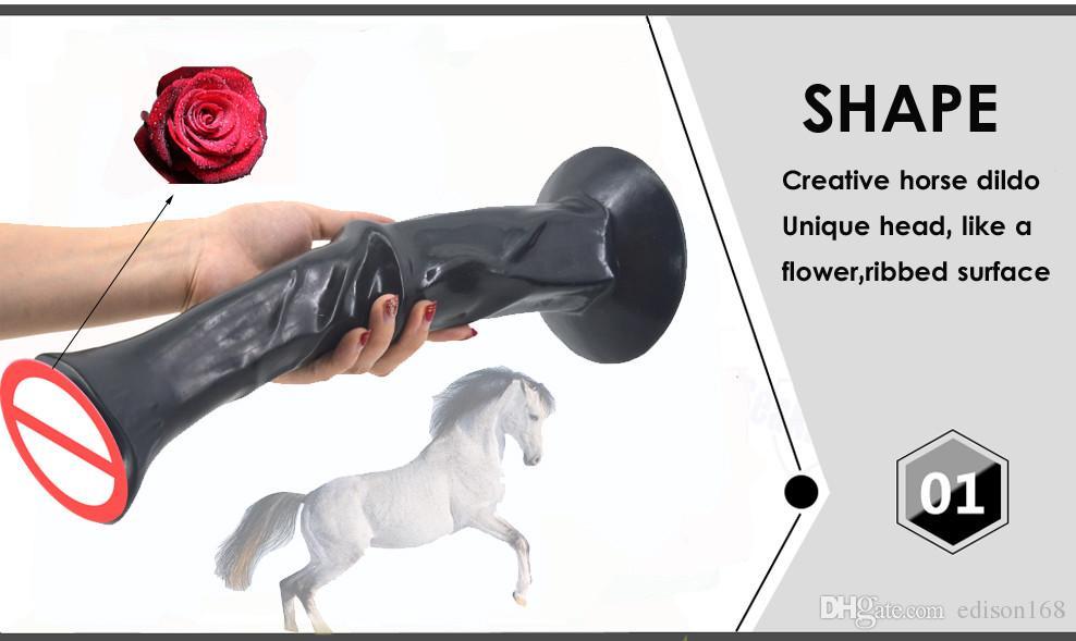 ضخم كبير الحيوان الفحل الحصان دسار مع قوي الالتصاق اصطناعية القضيب studhorse ديك ديك femalale الاستمناء الجنس لعبة الكبار