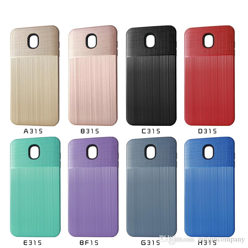 size 40 c571e 0b4dc For Samsung Galaxy J7 2018 j737P MetroPcs galaxy Galaxy J7 Star J7 refine  boost Hybrid Armor case TPU PC phone Case Shock-Proof Cases