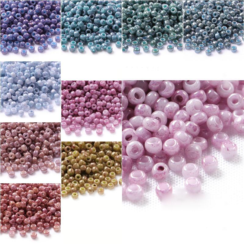2668fb055969 Perlas de vidrio de Japón Perles Joyería Abalorios Boncuk 2 MM 1000 UNIDS  Charm Spacer Hecho A Mano Redondo Kralen Granos de la Semilla para Hacer ...