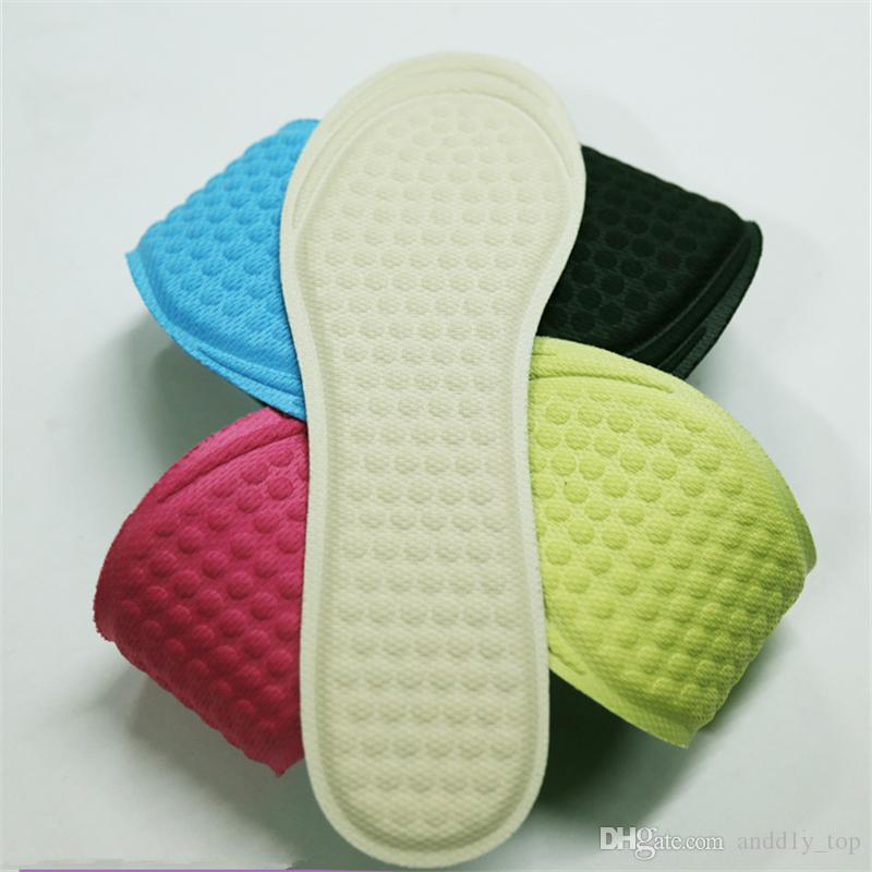 3D massage semelle femmes chaussure coussin respirant brioche antidérapante dames à talons hauts sport casual chaussures