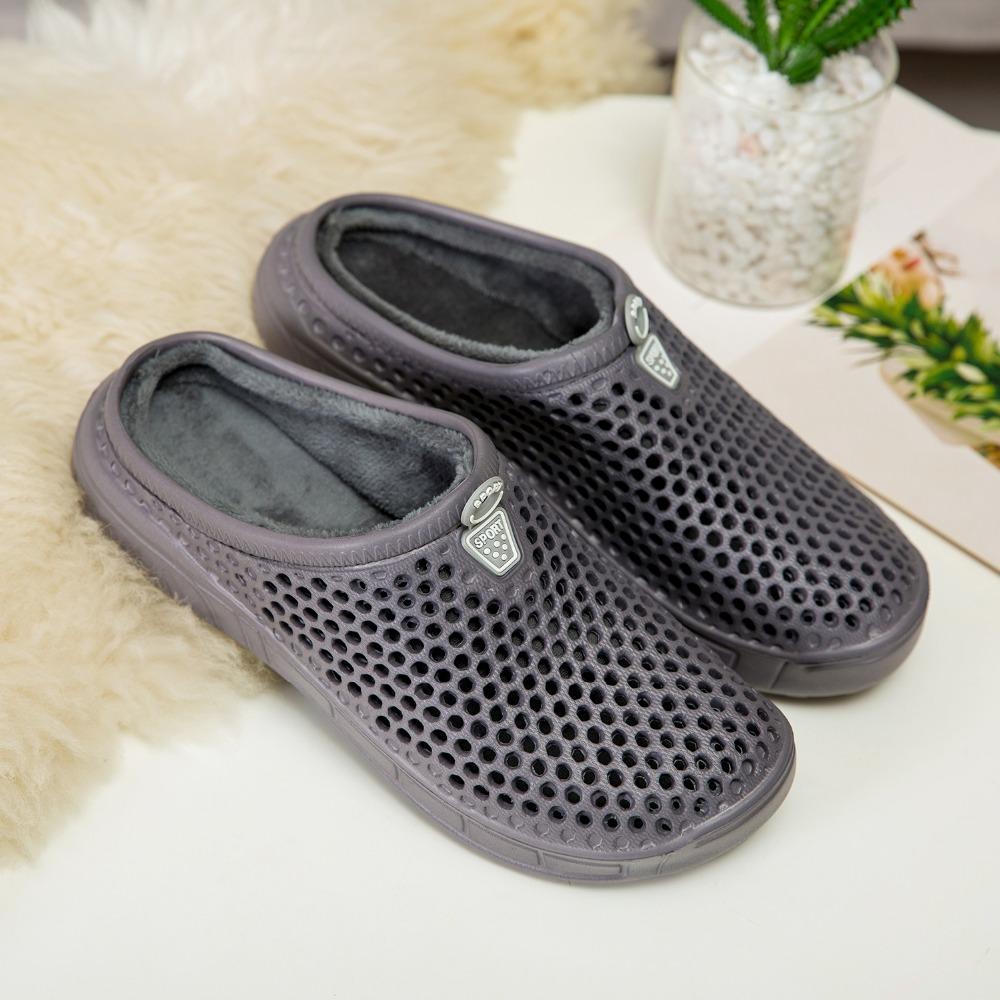 quality design 95980 e88d0 Pantofole originali Uomo Croc Clog Shoes Inverno Indoor Classic Mammoth  Luxe Shearling Fuzz Foderato Sneakers Nativ Fur Sandali da giardino