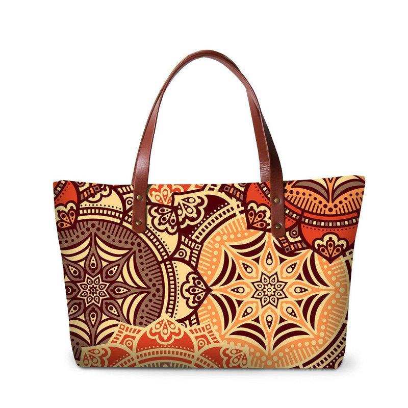 0453832cca1c Neoprene Lady Summer Shoulder Handbag Organizer Large Casual Tote bags  Girls Top-Handle Travel Zippered Closure Bag