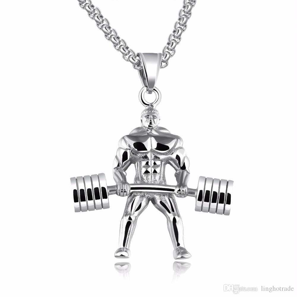 0a36b22ff88 Fashion Jewelry New Design Strong Man Stainless Steel Pendant ...