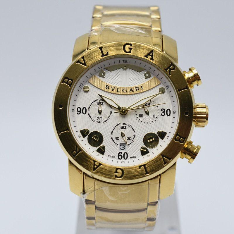 Acheter Grand Cadran 6 Aiguilles Travail Big Cadran AAA Montres Hommes Luxe  Marque Italienne Montre Or Montre De Mode Homme Quartz Atmos Horloge  Relogio ... 07105c11be0