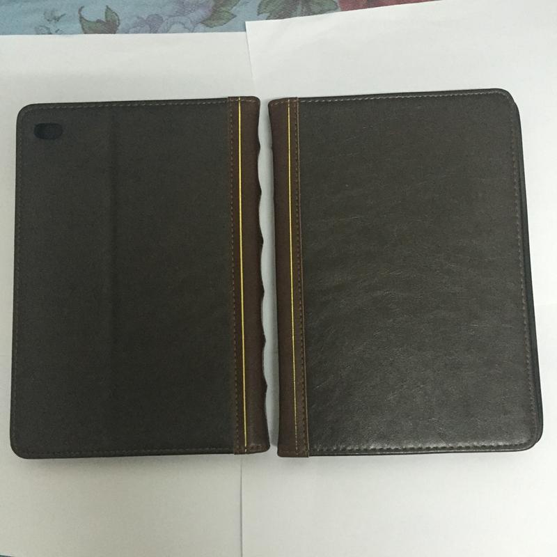 Kitap Stil Deri Cüzdan Kılıf Apple Masa Ipad 2 3 4, Hava 5 Hava 2 6 7 9.7 inç Retro Antik Vintage Eski Kapak Cilt Kılıfı Tutucu Kapak