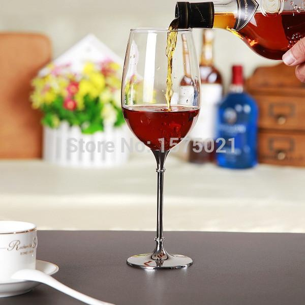 2016 New Design 597ml Red Wine Glasses Set Party Goblet Wedding And