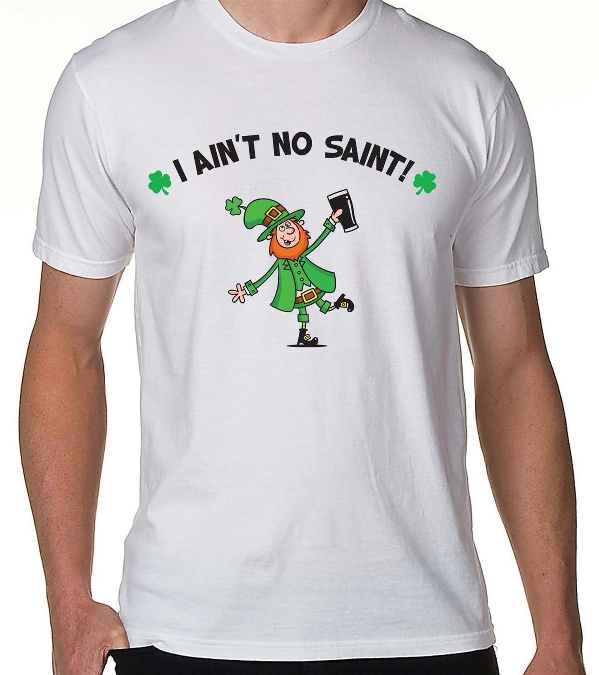 Grosshandel Ich Ist Kein Saint Leprechaun T Shirt St Patricks Day