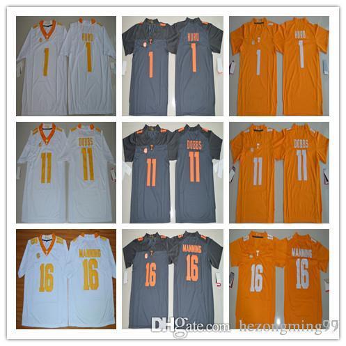 6925fb56a 16 Peyton Manning 11 Joshua Dobbs 1 Jalen Hurd Mens College ...