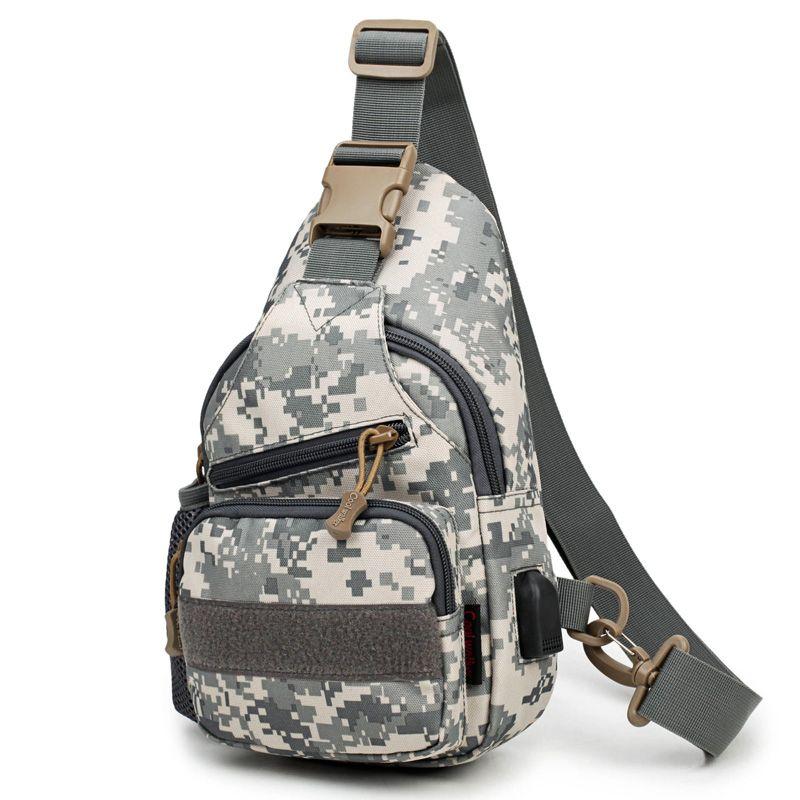 2019 Nylon Hike Messenger Bag Travel Sling Waterproof Shoulder Bag