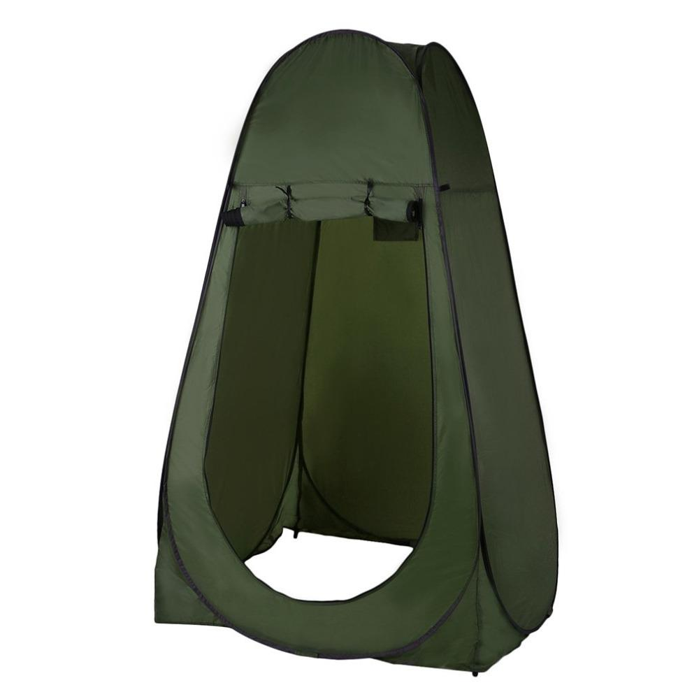 Portable Outdoor Pop Up Tent Camping Shower Bathroom Privacy Toilet  Changing Room Shelter Single Moving Folding Tents Drop Shipp Tent Sale  Vango Tents From ... 8325f3c9e637