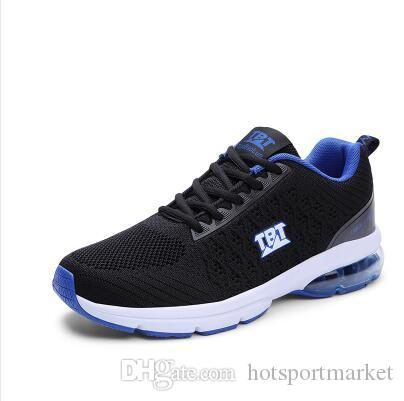 46b2469c6ddcb8 2018 Hot Sale Four Seasons Running Shoes Men Lace-up Athletic ...
