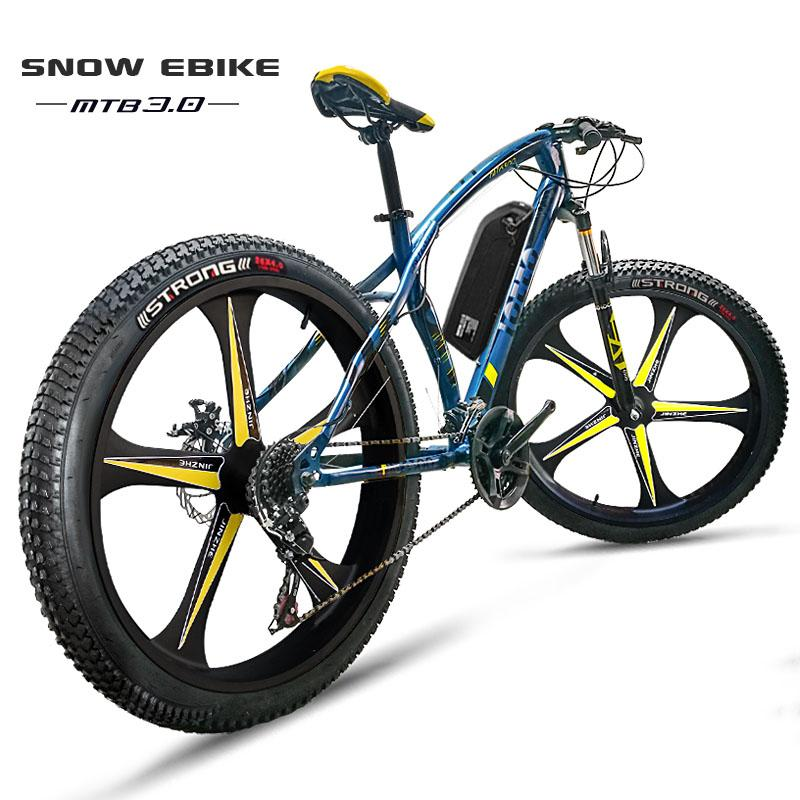 Off Road Electric Bike >> 2019 Custom Electric Snow Ebike 26inch Electric Bicycle Fat Tire 48v