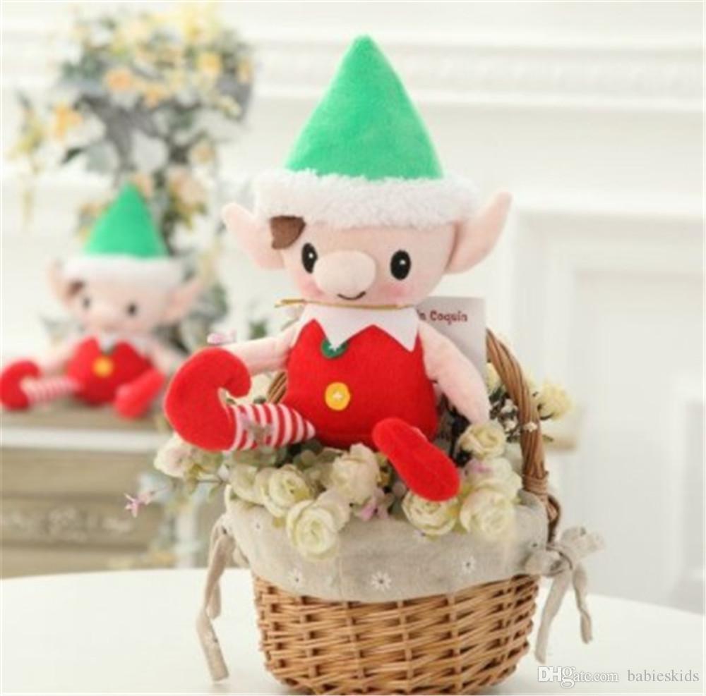 Cartoon Toy Christmas Elf Stuffed Toy Plush Doll Soft Fluffy For