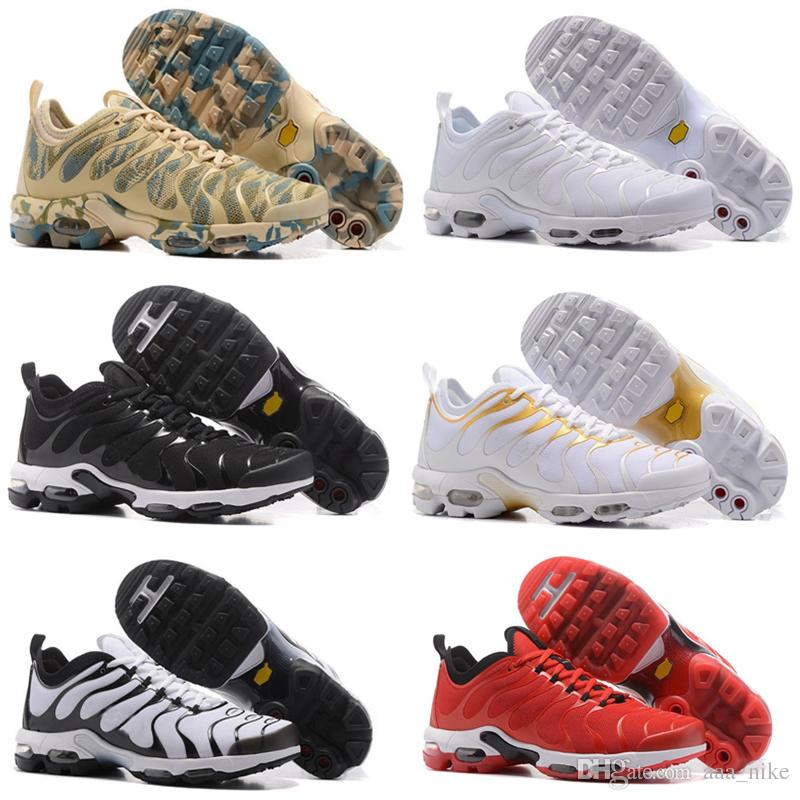 2e5e999c5ef8 2018 TN Rainbow Mens Shoes Flat Bottom Air Cushion Men Breathable Light Running  Shoes Sneakers Walking Running Shoes EUR Size 40-45 A08 Online with ...