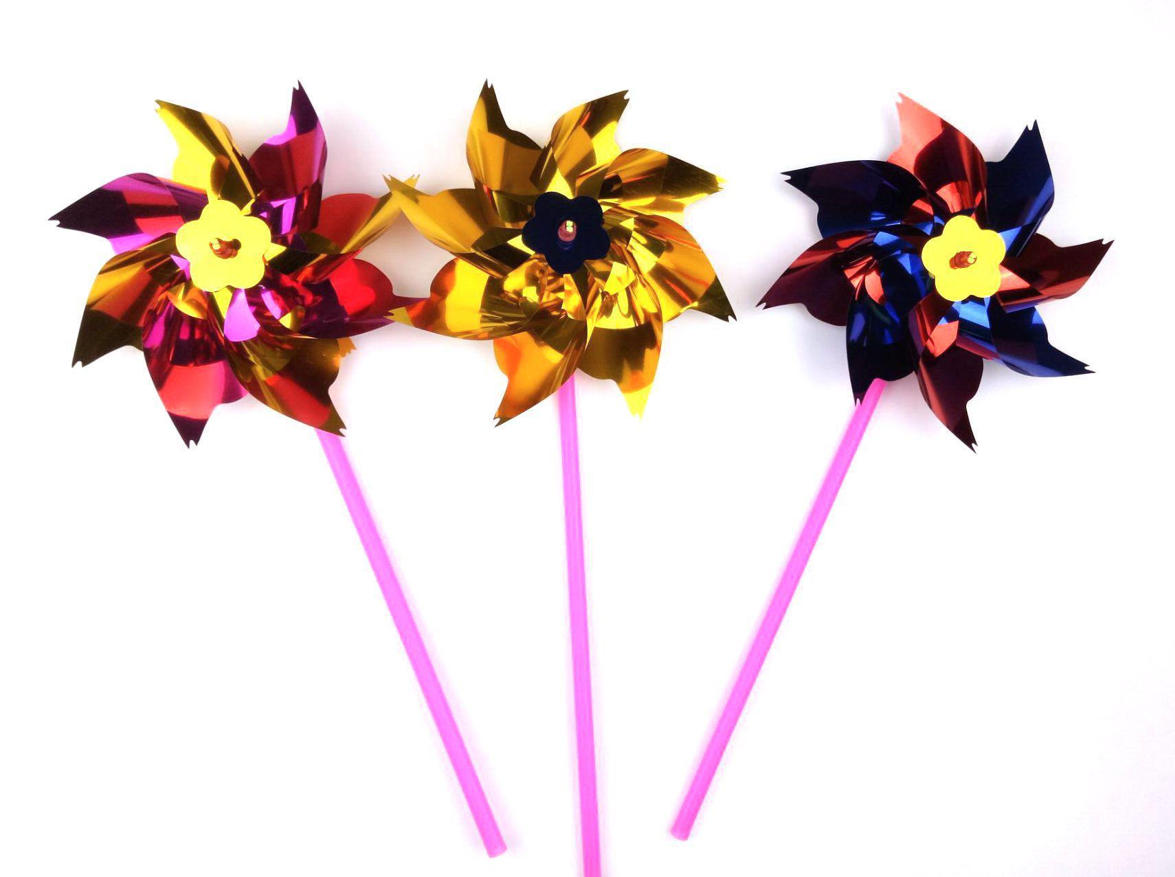 الملونة الجدة لعبة البلاستيك طاحونة دولاب الهواء الذاتي التجمع حديقة الحديقة حزب لعبة هدية للأولاد البنات الطفل في الهواء