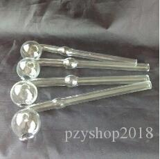 Sound long burn pot of glass accessories, the unique oil burner glass dropper smoking pipe conduit glass oil RIGS,