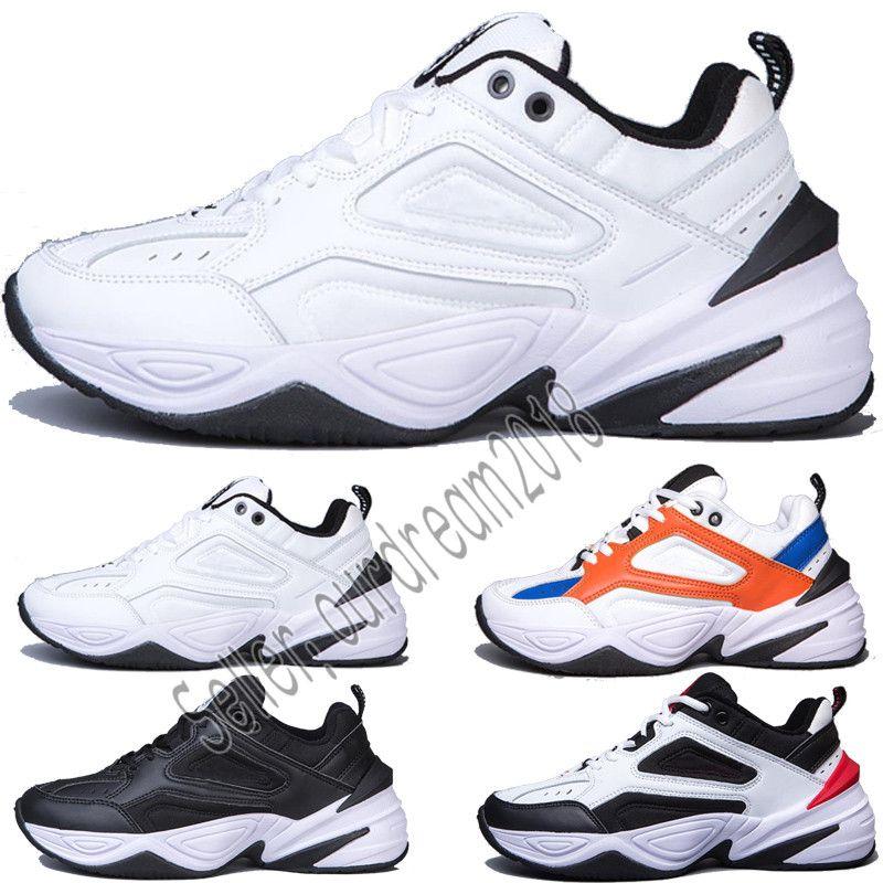 Купить Оптом Nike Air Max Airmax Самый Новый Мужчина Air Dad Shoes Monarch  4 The M2K Tekno Phantom Black Volt Мужская Кроссовки Спортивный Конструктор  ... 7b51ac02fca