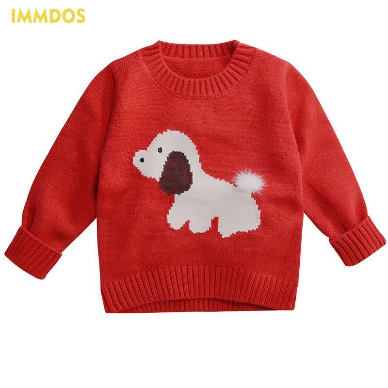 Compre Immdos Baby Sweater 2018 Suéteres Del Perro De La Historieta ...