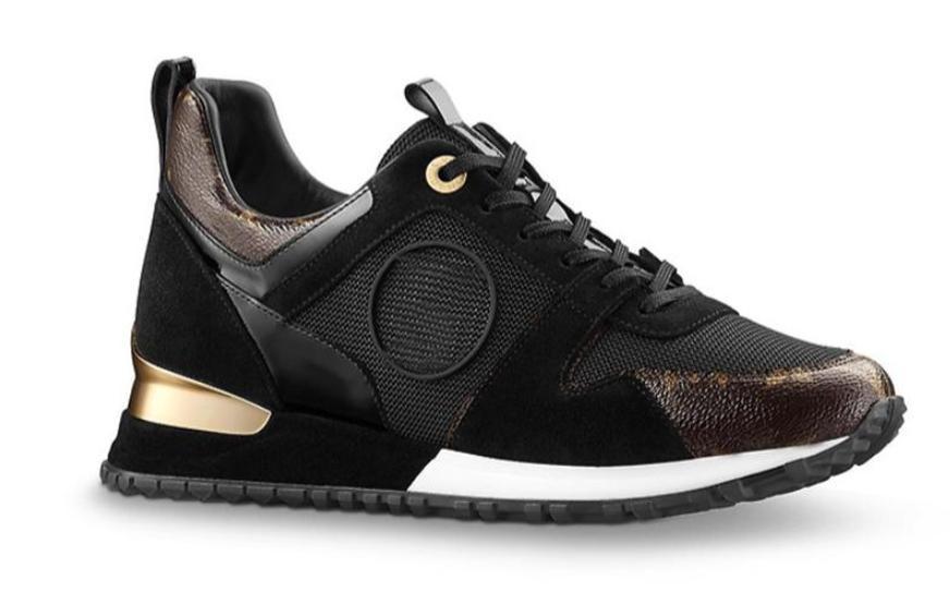 bde33d5e235 Compre Marca De Lujo Caliente De Cuero Zapatos Casuales Mujeres Hombres  Zapatillas De Deporte De Diseño De Moda De Cuero Con Cordones Run Away  Zapato Color ...