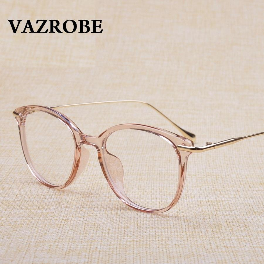 2018 Vazrobe Transparent Glasses Frame Women Men Prescription ...
