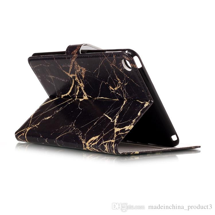 Marble Flower Wallet Leather Case for ipad mini 8 6 mini4 mini1/2/3 iPad2/3/4 for Universal 7 8 inch