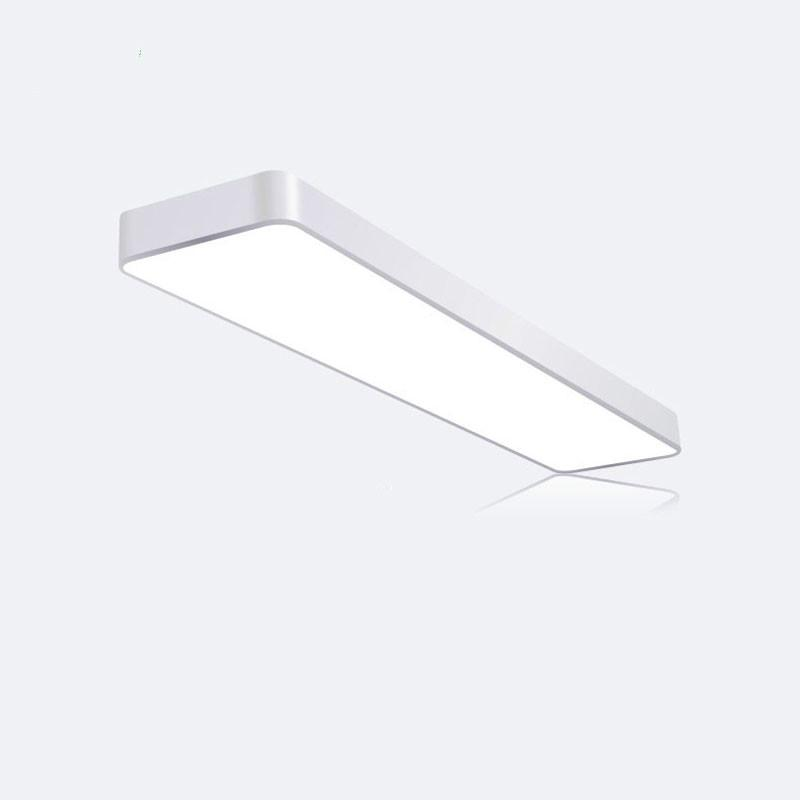 Ceiling Lights Modern Led Ceiling Light Lamp Lighting Fixture Surface Mount Rectangle Panel Remote Control Office Bedroom Living Room 110v 220v