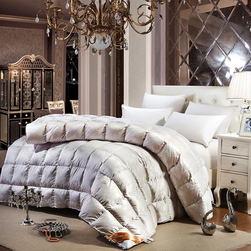 2019 Noble Baroque Style Winter Comforter Quilting Duck Goose Down