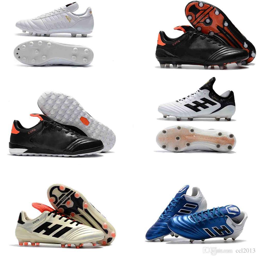 8decf6cce874 2019 2017 New Arrival Original Soccer Cleats Outdoor Copa Mundial Football  Boots Mens Soccer Shoes Copa 17.1 FG Cleats Boots Football Shoes Green From  ...