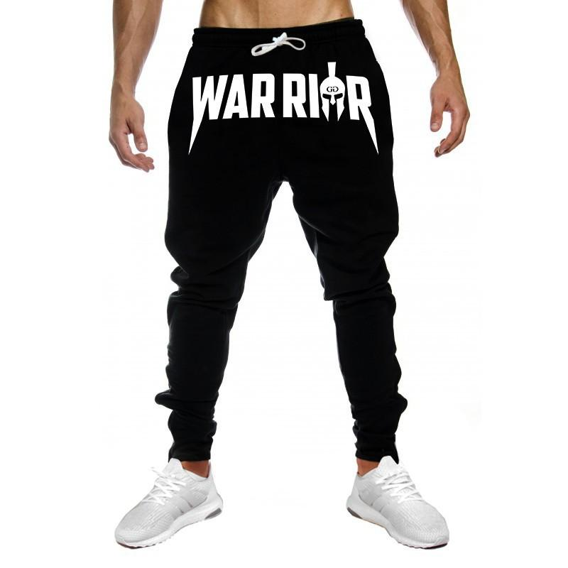 631870b9167 2019 Muscle Training Men S Fitness Sweatpants Cotton Stretch Running Sports  Casual Pants Jogger Trousers Hip Hop From Diegonovo