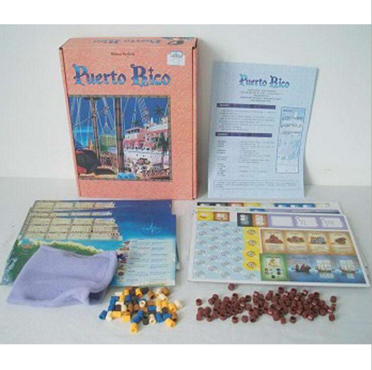 Hot New Puerto Rico PUERTO BICO Jeu de cartes Puzzle pour enfants Jeu de cartes classique britannique CRABS ADJUST HUMIDITY jeu de plateau de poker