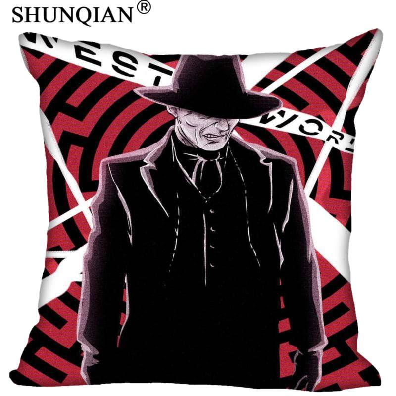 New Arrival Man In Black Westworld Art Pillowcases Zipper Custom