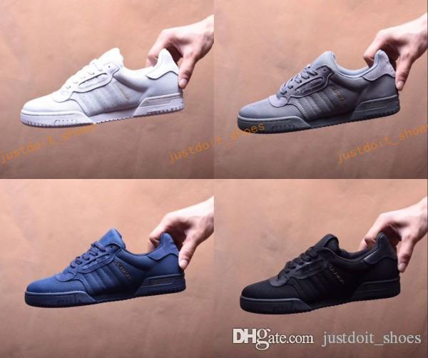 78f9ae2198cad CALABASAS POWERPHASE Shoe Kanye West Calabasas Mens Women Sneakers White  Leather Upper With Lateral Calabasas Outdoor Shoes New Collection Running  Shoes ...