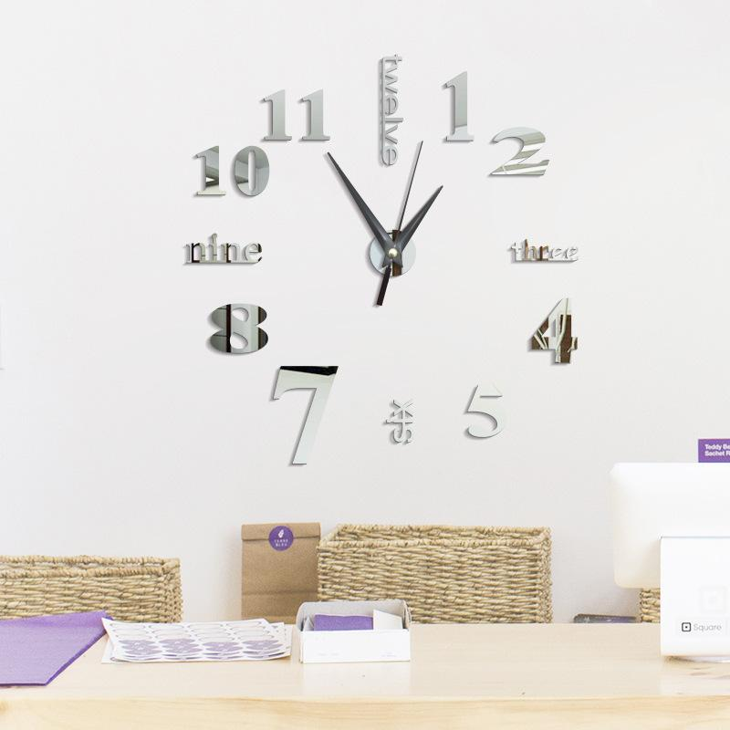 Large Diy Wall Clock Home Decor Freight Ship By Dhl For Customized