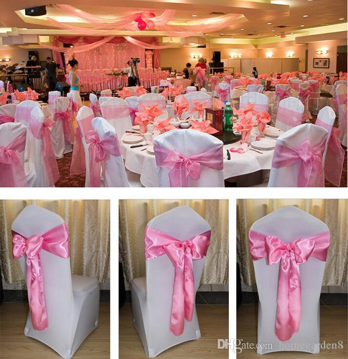 Chair Covers Sashes Band Top Quality Free Chair Sash Ribbon For Wedding Events And Party Decoration Tie Bands