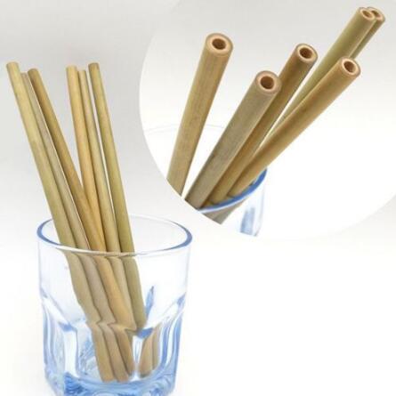 Grosshandel 20 Cm Bambus Strohhalme Bambus Trinkhalm