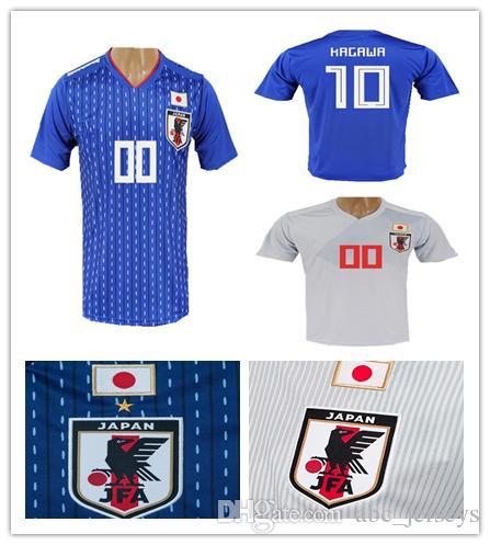 5cc83811 ... reduced 2018 world cup japan soccer jersey home away soccer shirt 10  kagawa 9 okazaki 8