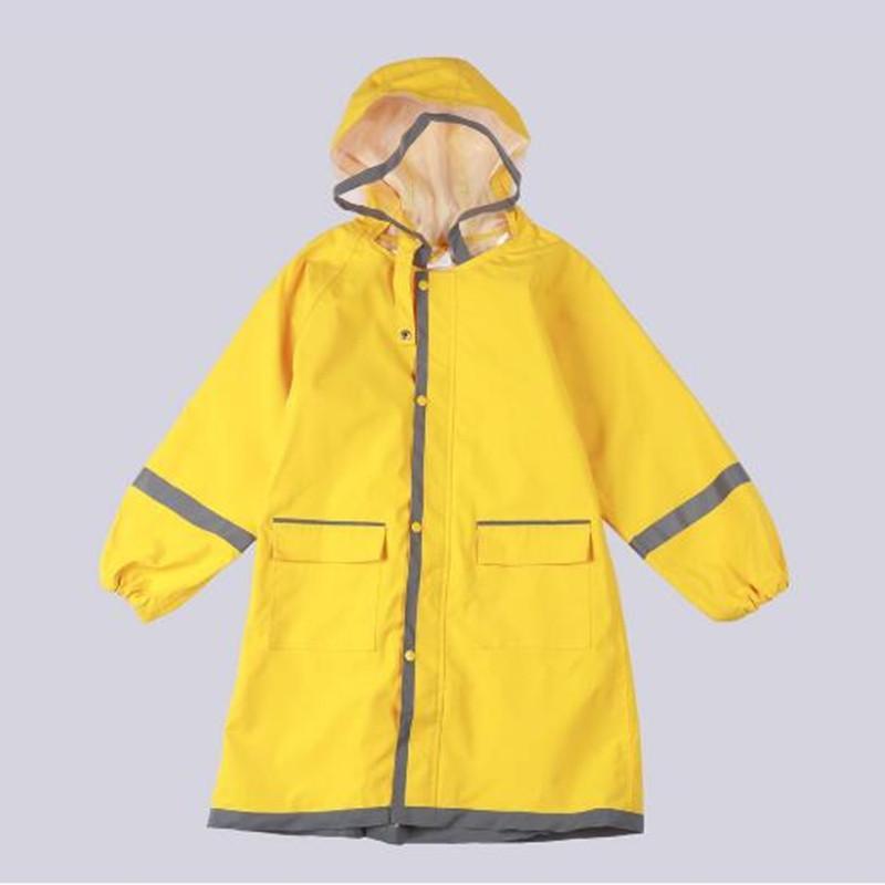 2896536dd39c 80 145cm Raincoat For Children Kids Rain Poncho Coat Child Sets ...