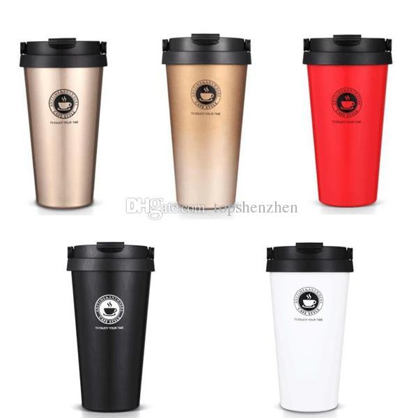 17oz vacuum insulated travel coffee mug 500ml fashion stainless