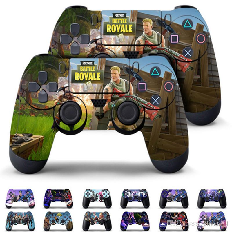 5 Piece Garrison Fortnight Battle Royale Skin Video Games: 2019 Game Fortnite Battle Royal PS4 Slim Skin Sticker For