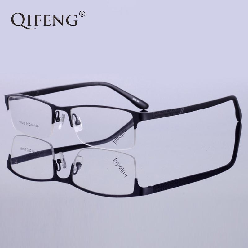 c7abb10b08 2019 QIFENG Spectacle Frame Eyeglasses Men Korean Computer Optical  Prescription Myopia Clear Lens Eye Glasses Frame For Male QF152 From  Junemay