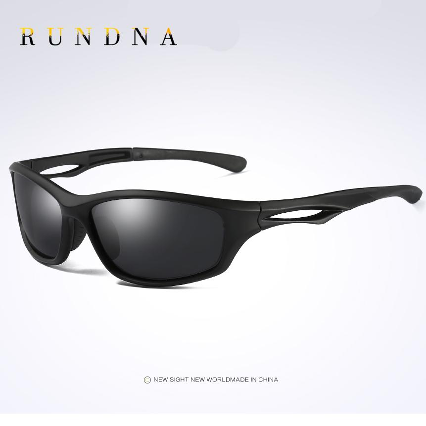 3d2ed01091 RUNDNA TR90 Lightweight Polarized Sports Sunglasses Outdoor Riding Bike  Bicycle Cycling Sunglasses Black TR90 Druable Frame Cycling Sunglasses  Sunglass ...