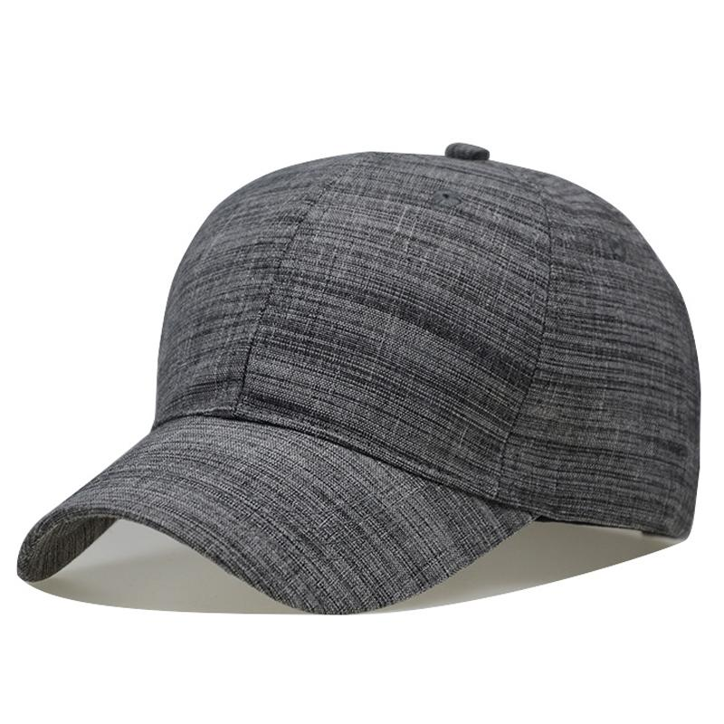 afd7745f6 100 % Men Big Head Baseball Cap Black/Gray Color Adult Peaked Cap With  Large Size Dad Hat Circumference 56 68cm Wool Hip Hop Hat Richardson Caps  Customized ...